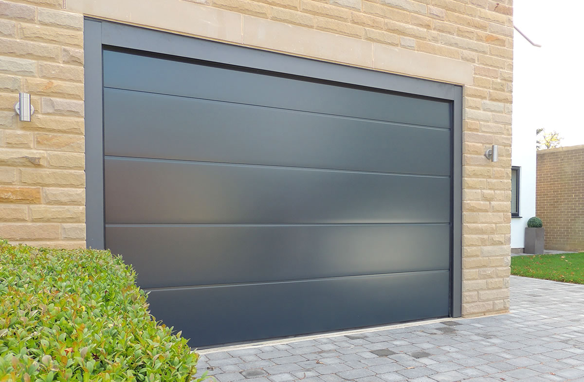 high tech garage door