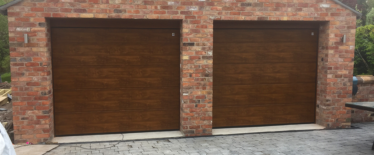 wood effect garage doors